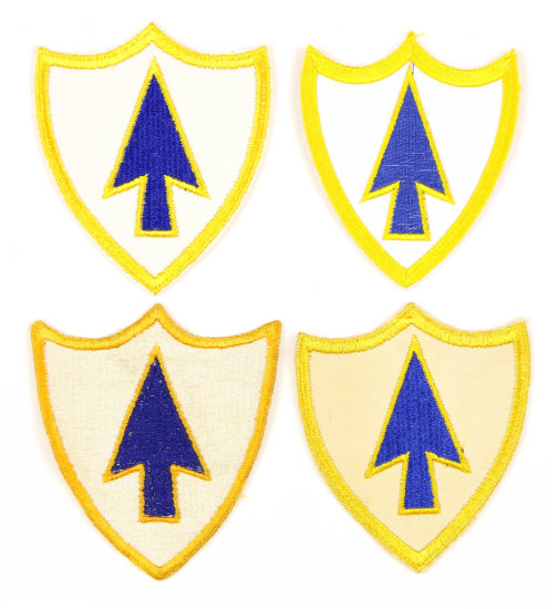 26 Inf. Regt. Patches (4)
