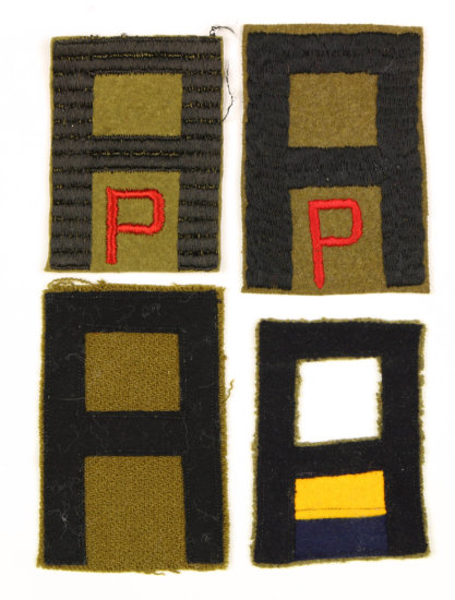 WWI First Army Patches (4)