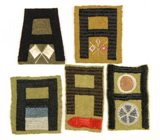 WWI First Army Patches (5)