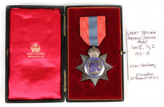 Great Britain Imperial Service Medal