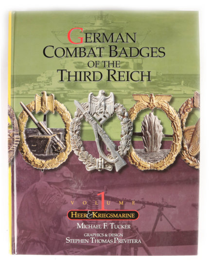 Book: German Combat Badges of the Third Reich, Volume I