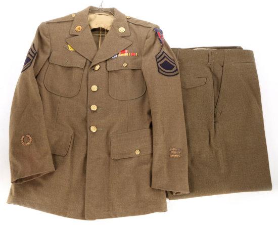 WWII U.S. Army Jacket and Pants