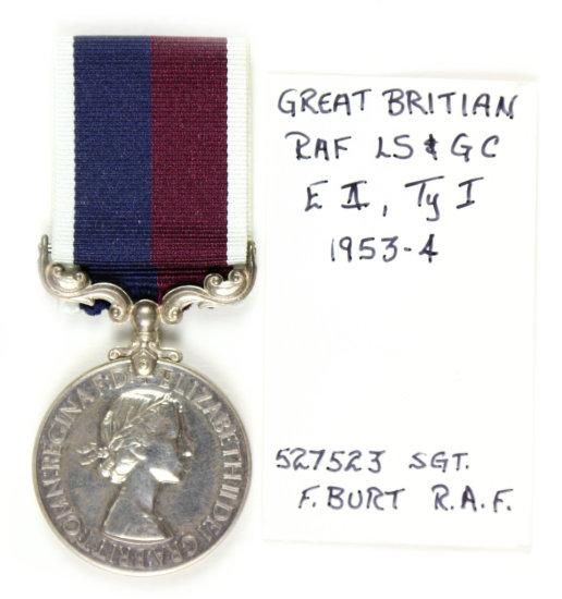 Gr. Britain RAF LS & GC Medal