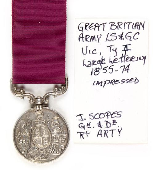 Gr. Britain Army LS & GC Medal
