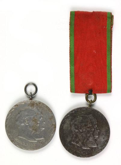 1918 Bavarian Commemorative Medal (2)