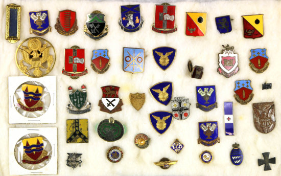 Collection of Military Pins & More (40)