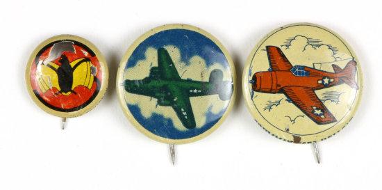 Kellogg's PEP Buttons (3)