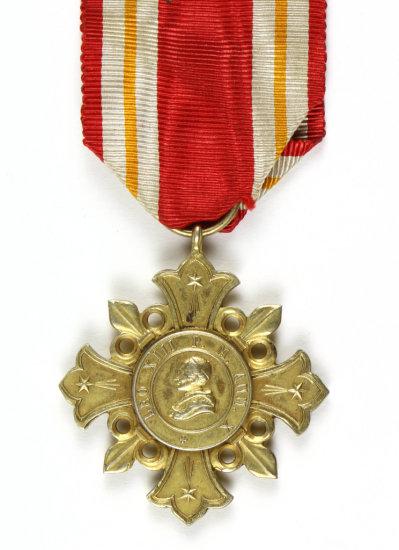 Holy Cross Pro Ecclesia et Pontifice of Pope Leo XIII