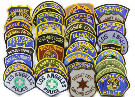 California Police Patches (36)