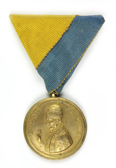 1826 Pope Leo XII Medal