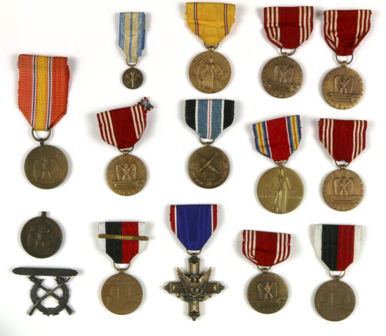 Collection of Military Medals (20)