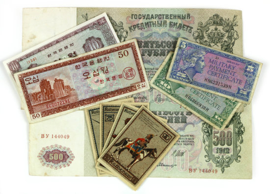 Foreign Currency and Military Payment Certificates