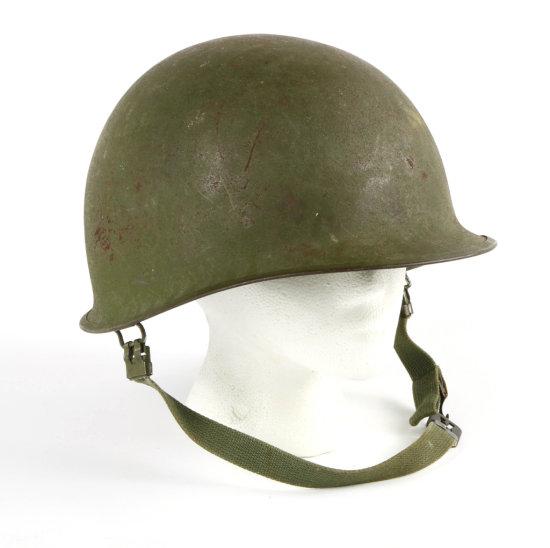 WWII U.S. Army M-1 Helmet
