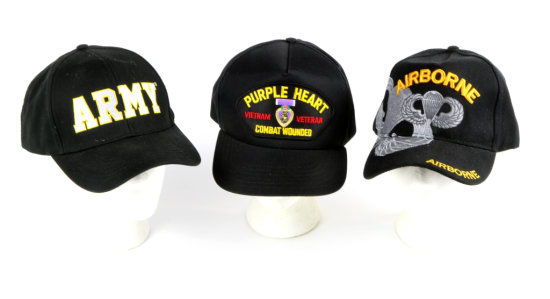 U.S. Army Caps (3)