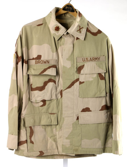 U.S. Army Desert Camo Jacket & Pants