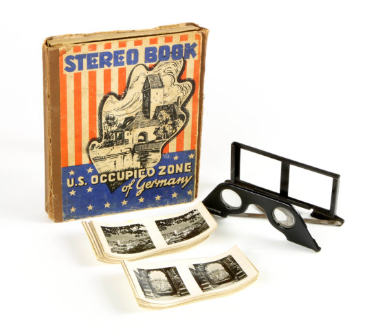 Stereo Book: U.S. Occupied Zone of Germany