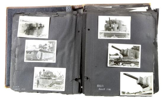 German Invasion of Russia Candid Picture Album (341)