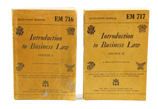 Books: Intro. To Business Law (2)