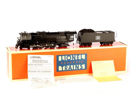Lionel Rock Island 4-8-4 Locomotive and Tender