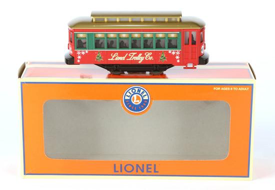 Lionel Christmas Trolley