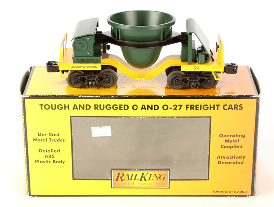 Rail King Alliquippa Works Slag Car