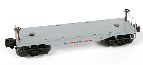Lionel Gray Flat Car