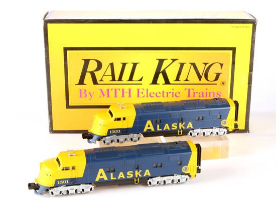 Rail King E-3 AA Diesel Engine Set