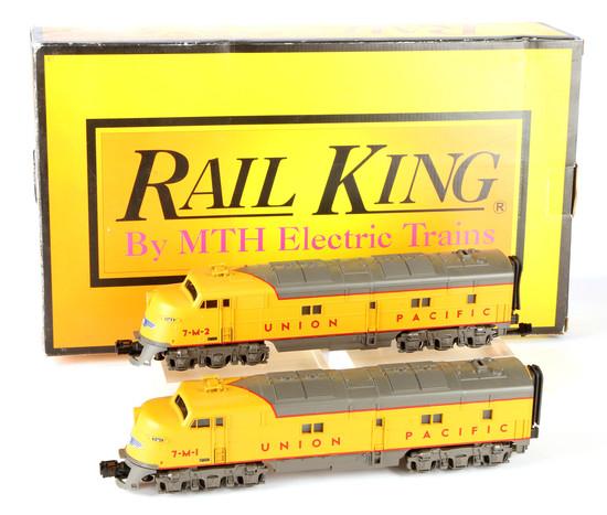 Rail King Union Pacific E-6 AA Diesel Engine Set