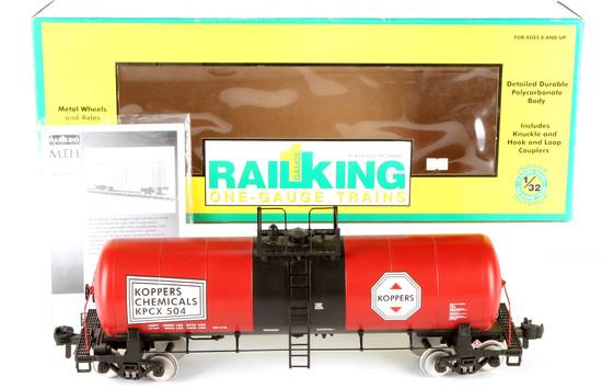 Rail King Koppers #504 Unibody Tank Car