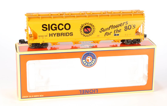 Lionel Sigco Hybrids ACF 4-Bay Hopper
