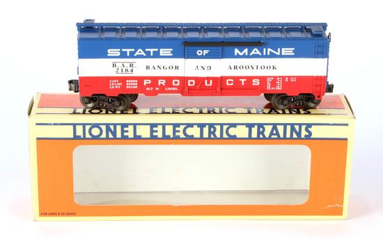Lionel State of Maine Boxcar Bangor & Aroostook