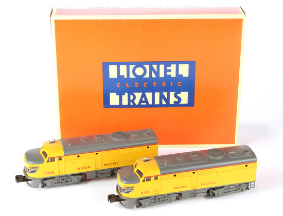 Lionel Union Pacific FA-2 Alco AA Diesel Engine Power Unit Features