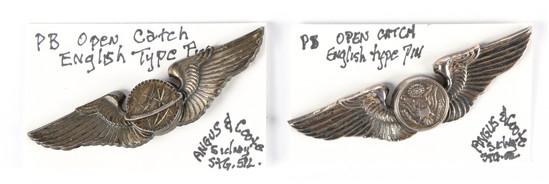 U.S. Army Air Force Aircrew & Navigator Wings Pins