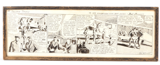 Original Tailspin Tommy Comic Strip