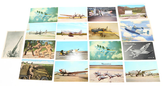 Miscellaneous Aviation & Air Force Post Cards (16)