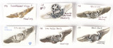 Miscellaneous Army Wings Pins (6)