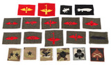 Miscellaneous Air Force & Navy Aviation Patches (22)