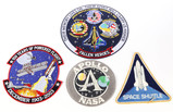 Miscellaneous Space/NASA Patches (4)