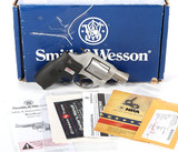 Smith & Wesson Model 637-2 in .38 Special +P