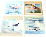 Charles H. Hubbell Color Aviation Lithographs (48)