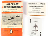 Aircraft Recognition Book and Playing Cards