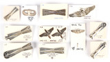 Miscellaneous Aviation, Parachutist and Missile Pins (11)