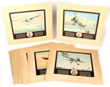National Air Race Color Lithographs (8)