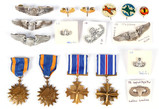 Miscellaneous Aviation Medals, Pins, Ribbons
