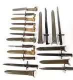 Bayonets (Lot of 10)