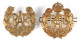 British RAF Cap Badges (2)