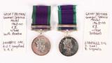 Gr. Britain Genl. Svc. Medal (2)