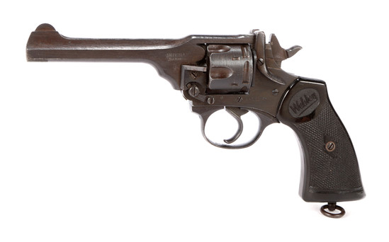 Webley Mark IV in .38 Smith & Wesson
