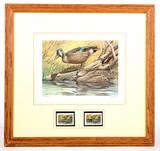 Ohio Wetlands Habitat Duck Stamp & Print