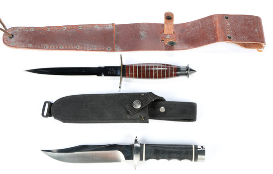 WWII Commando Knife (Case Remake)